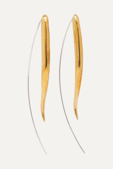 ARIANA BOUSSARD-REIFEL Kalahari Gold-Tone And Silver Earrings