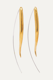 Ariana Boussard-Reifel Kalahari gold-tone and silver earrings