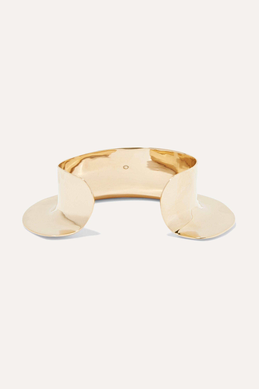 Ariana Boussard-Reifel Despina gold-tone cuff