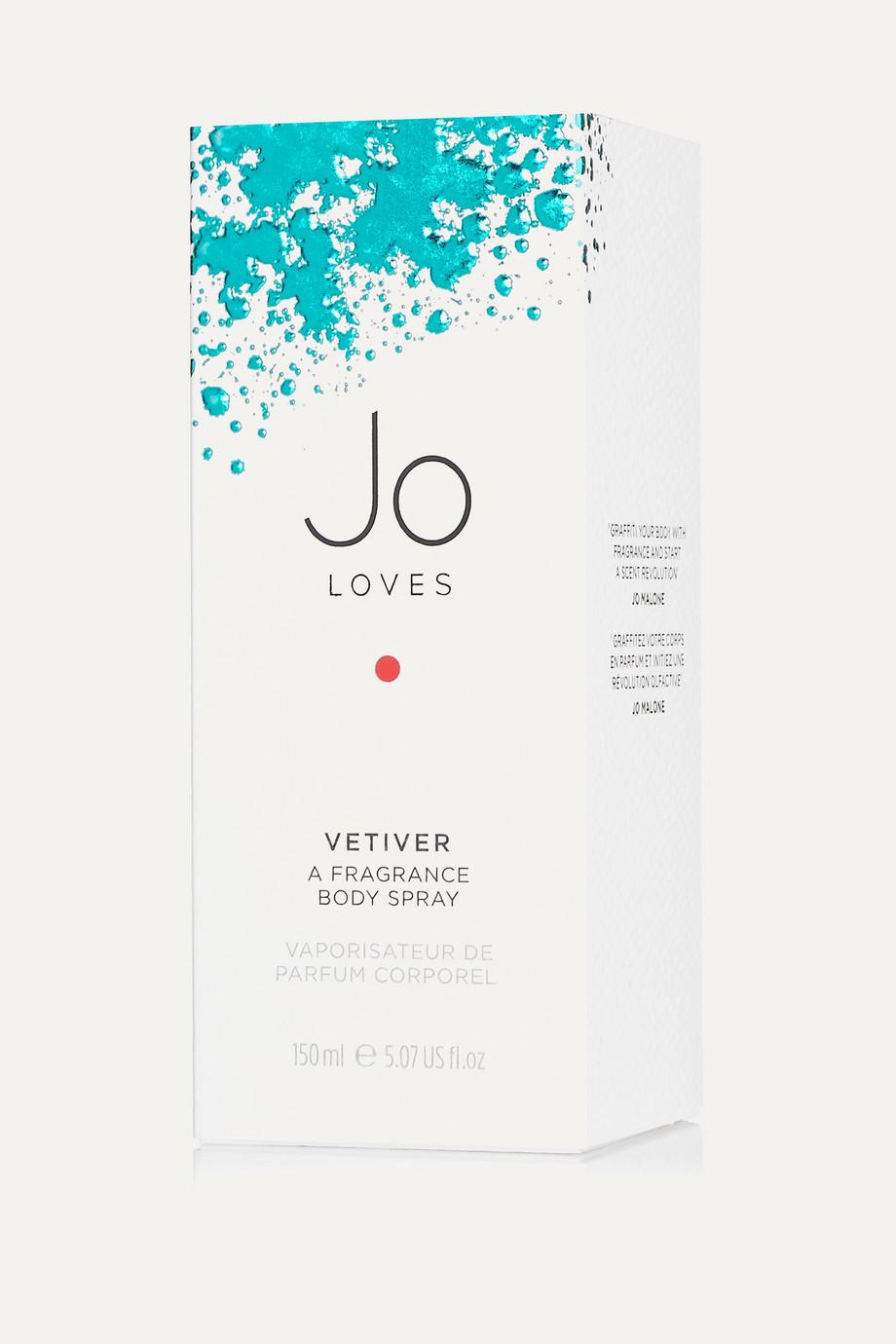 Jo Loves A Fragrance Body Spray - Vetiver, 150ml