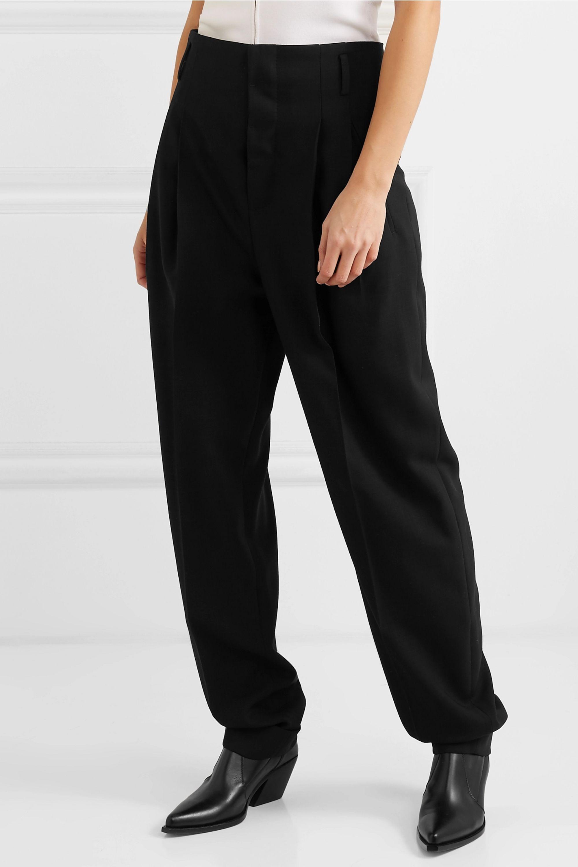 Haider Ackermann Pleated wool pants