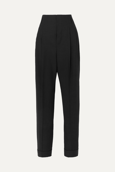 Haider Ackermann Tailored Straight-leg Trousers In Black