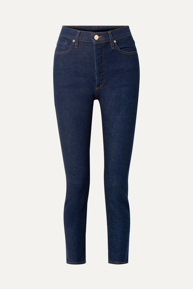 Goldsign Jeans THE HIGH RISE SLIM-LEG JEANS