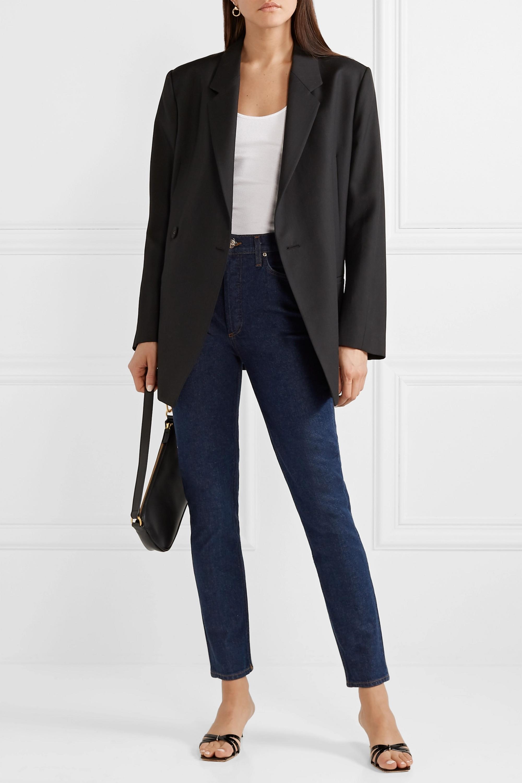 GOLDSIGN The High Rise slim-leg jeans