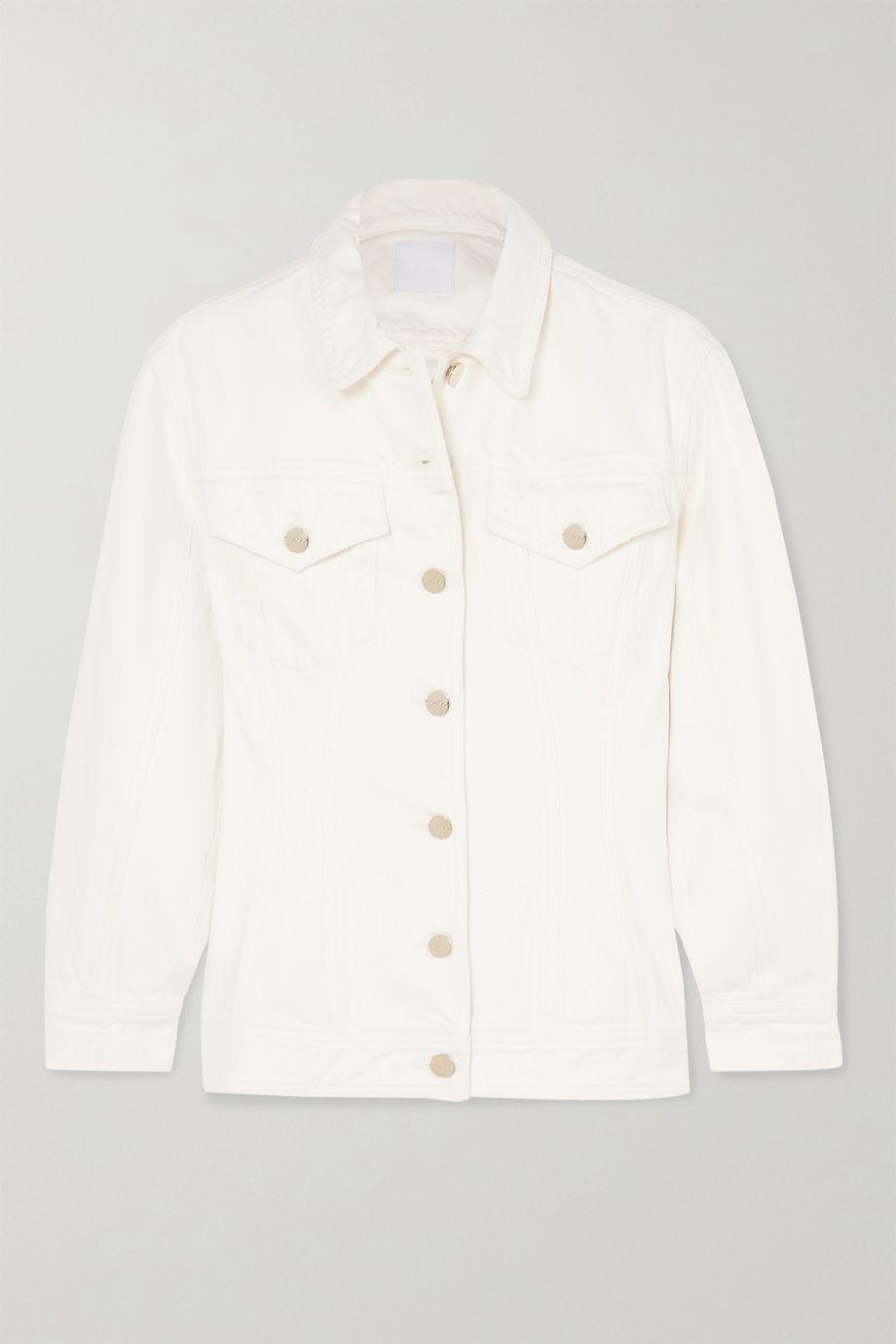 GOLDSIGN The Waisted denim jacket