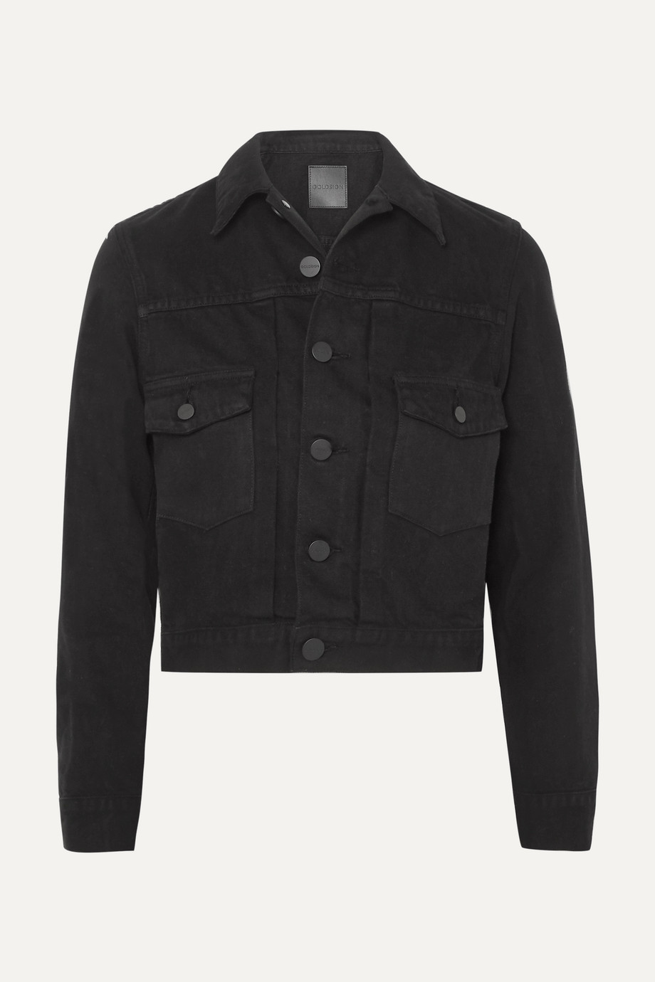 GOLDSIGN The Pleat denim jacket