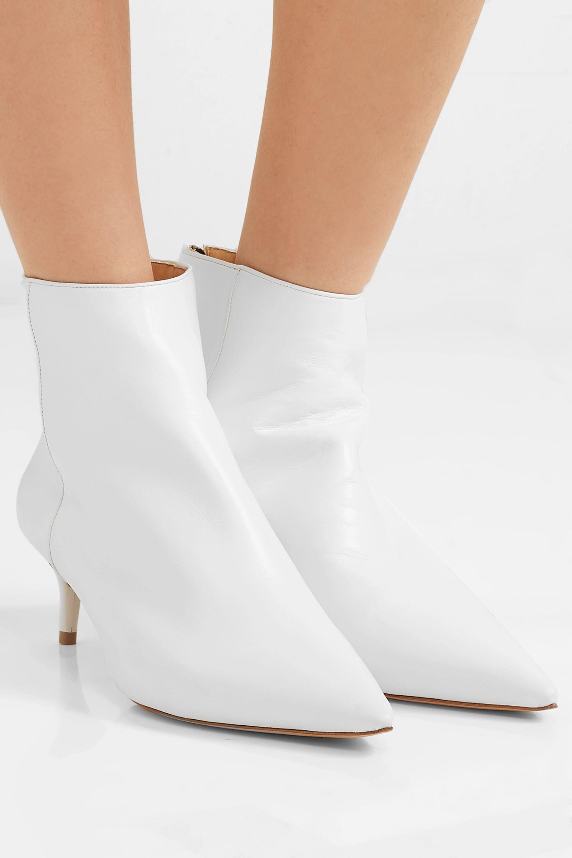 Alexandre Birman Kittie leather ankle boots