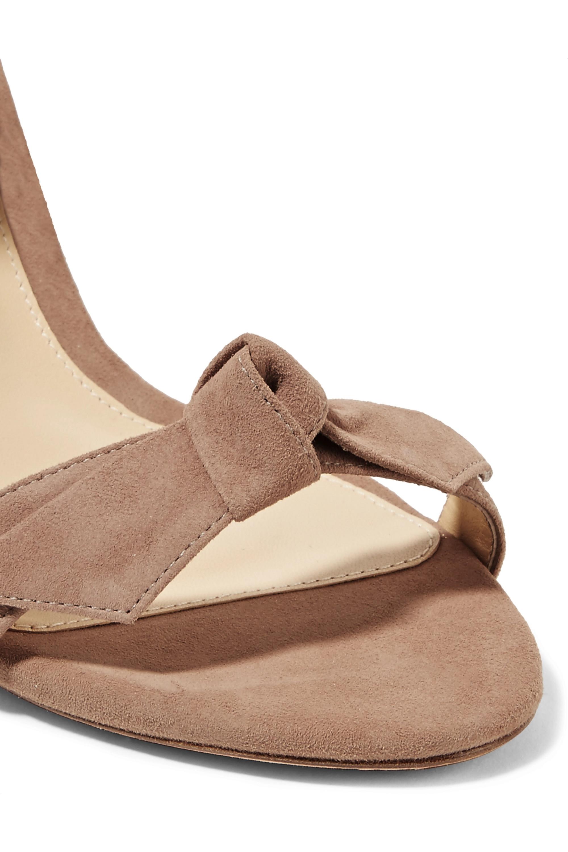 Alexandre Birman Clarita bow-embellished suede sandals