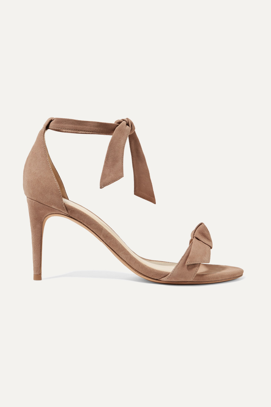Alexandre Birman Clarita bow-embellished suede sandals