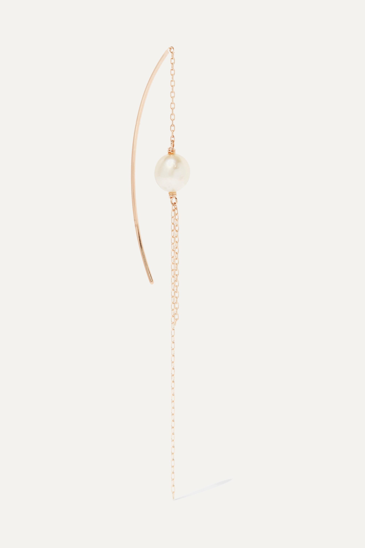Hirotaka 10-karat gold pearl earring