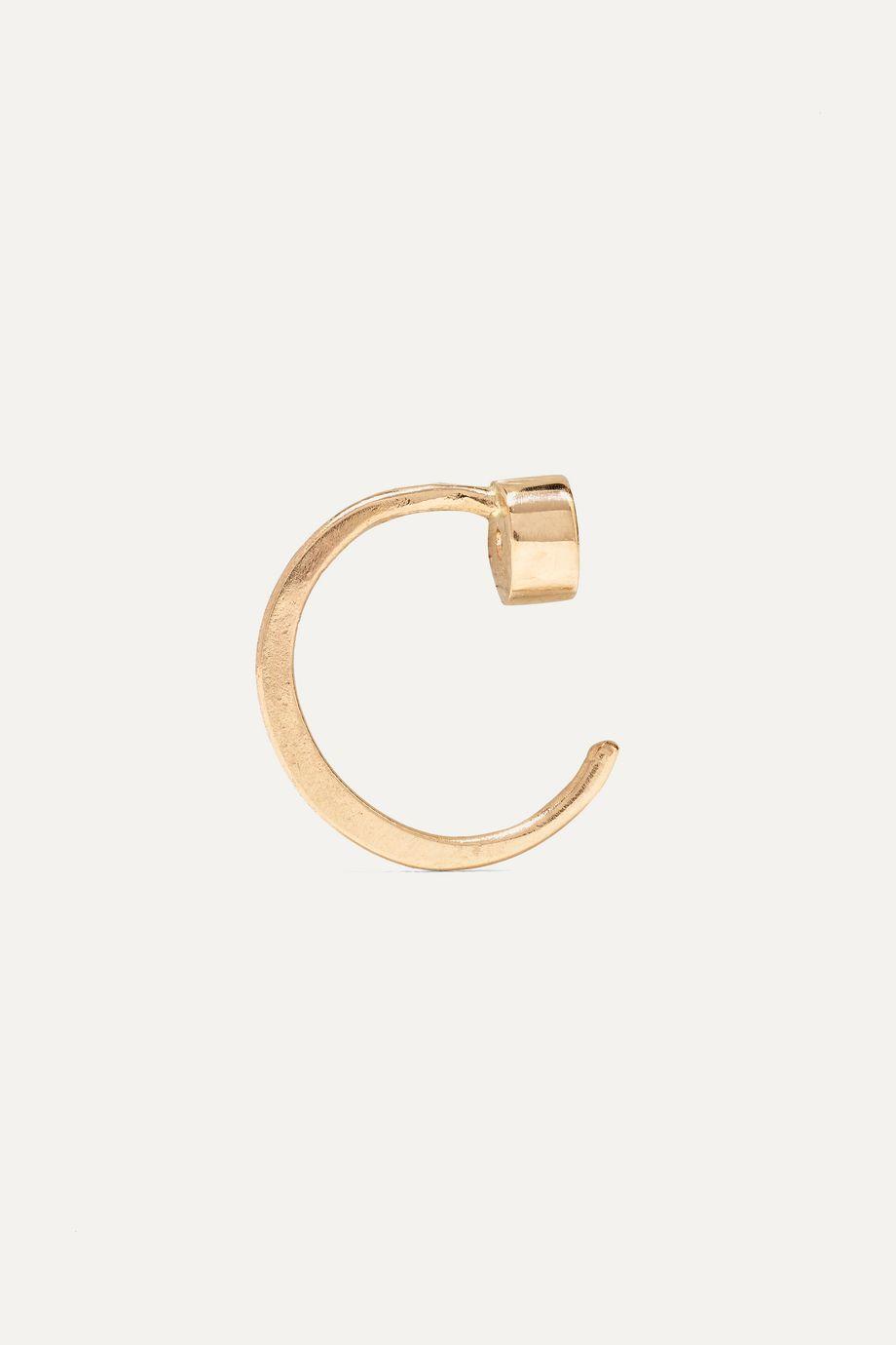 Melissa Joy Manning 14-karat gold diamond earrings