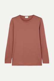 Handvaerk Pima cotton-jersey top