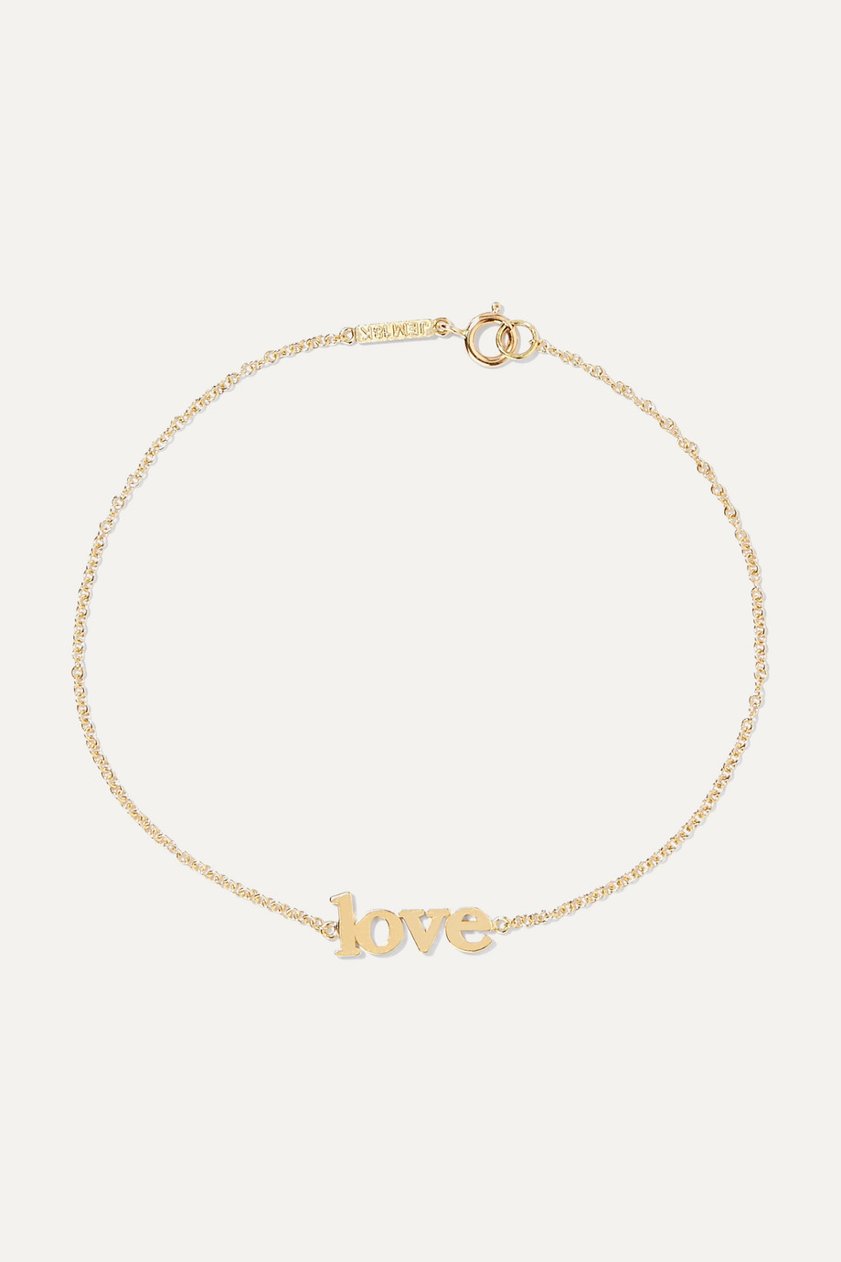 Jennifer Meyer Love 18-karat gold bracelet