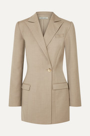 Sienna wool and cashmere-blend blazer