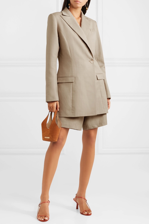 ANNA QUAN Sienna wool and cashmere-blend blazer