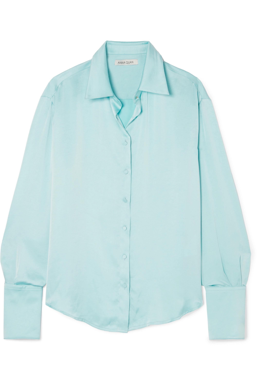 ANNA QUAN Lana satin shirt