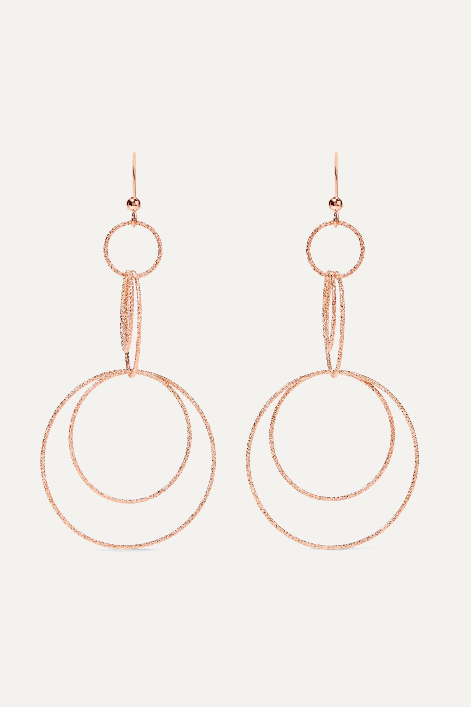 Rose Gold Florentine 18 Karat Rose Gold Earrings Carolina Bucci Net A Porter