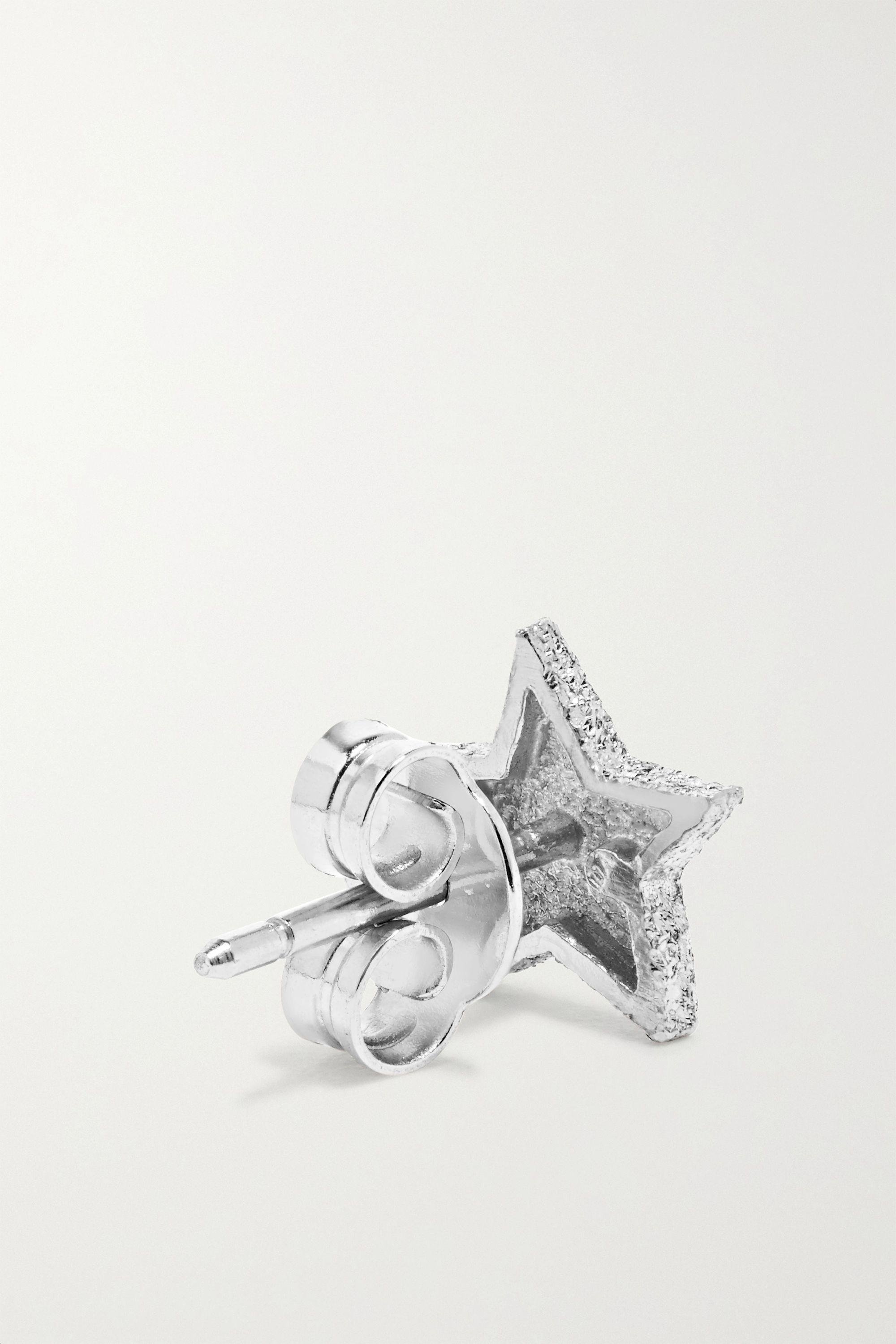 Or Blanc Boucles D'oreilles En 18carats | Carolina Bucci