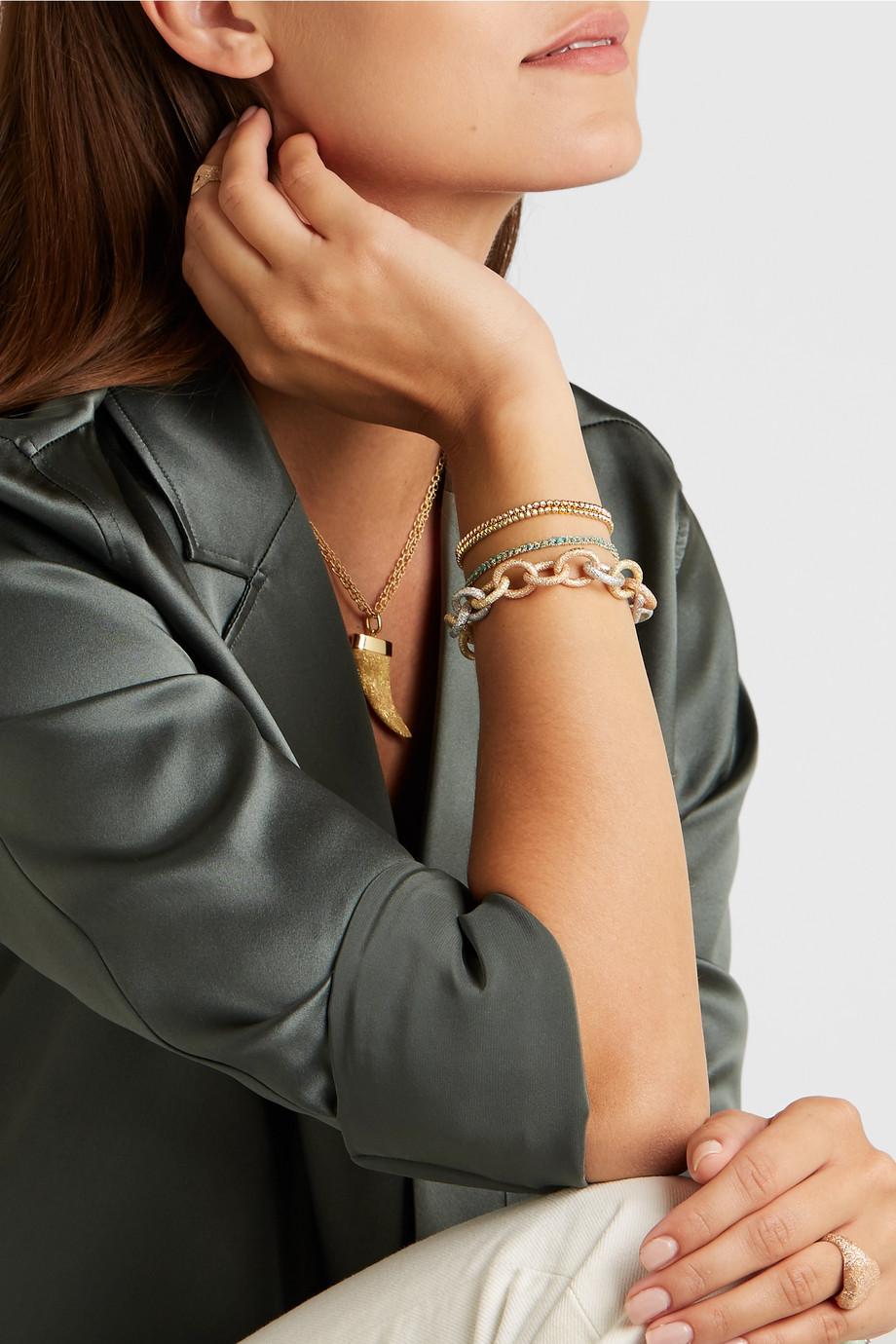 Carolina Bucci Set of two 18-karat gold bracelets