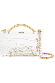 Eugene Crushed Ice acrylic clutch