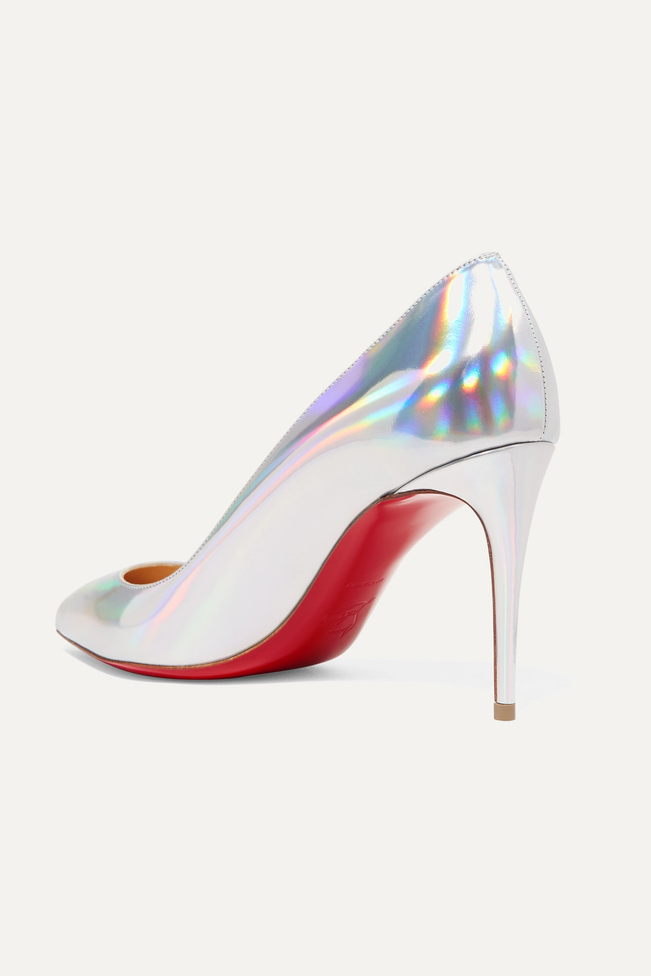 063fd6be6acd Christian Louboutin Pigalle Follies 85 iridescent leather pumps
