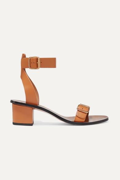 ATP ATELIER | ATP Atelier - Carmen Leather Sandals - Camel | Goxip