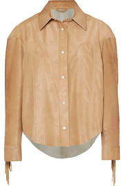 Alanui Fringed suede jacket