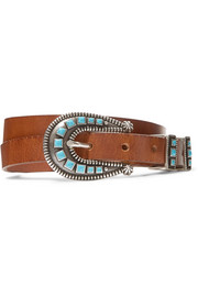 Alanui Embellished leather belt