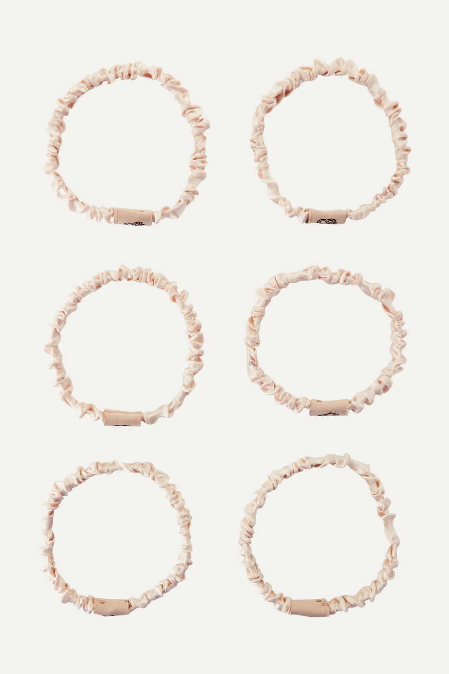 SILKE London The Coco set of six hair ties