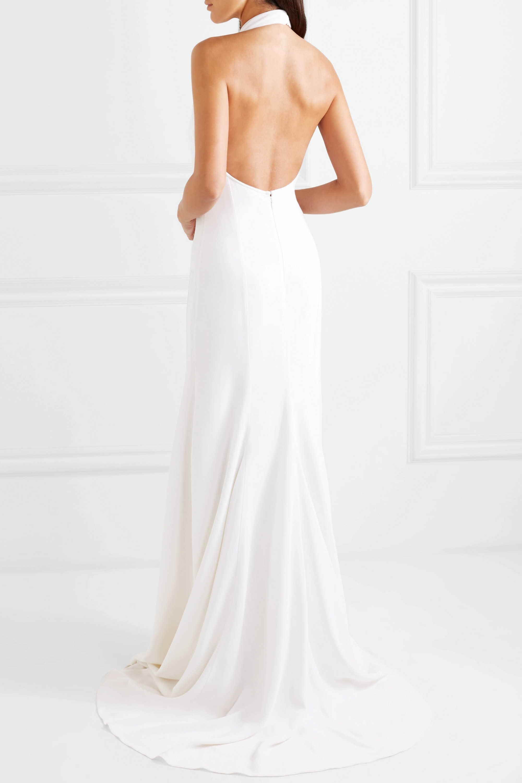 Stella McCartney Stretch-crepe halterneck gown