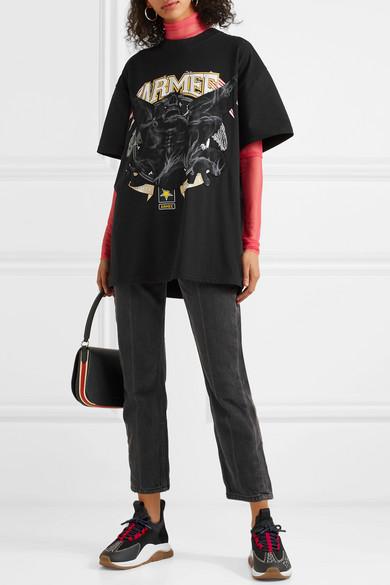 Versace Sneakers Cross Chainer mesh, neoprene and suede sneakers