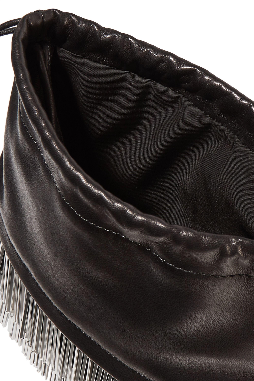 Alexander Wang Ryan mini fringed leather bucket bag
