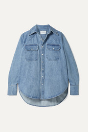Matthew Adams Dolan Oversized denim shirt