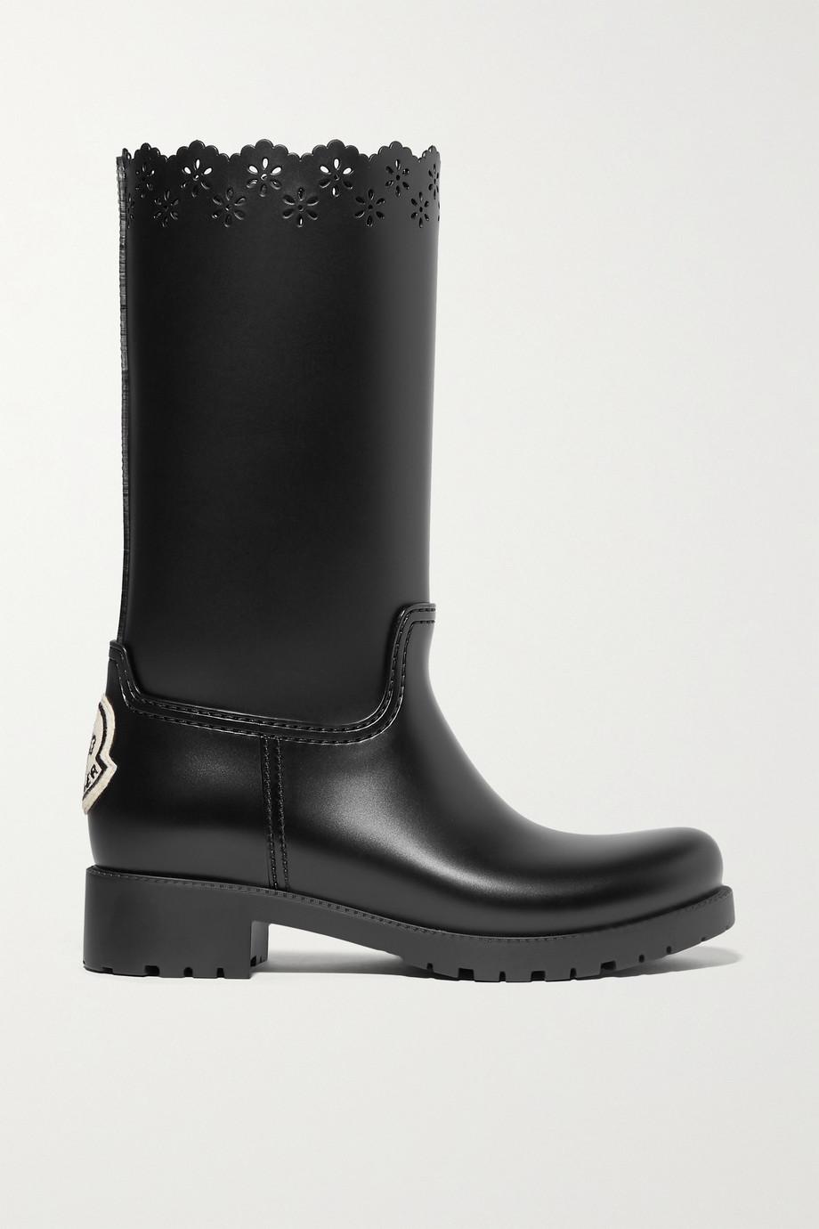 Moncler Genius + Simone Rocha laser-cut rubber boots