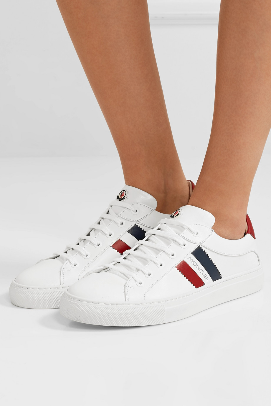 Moncler Leni leather sneakers