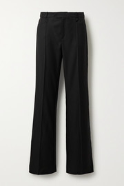 Rocker Super 100 wool-twill wide-leg pants