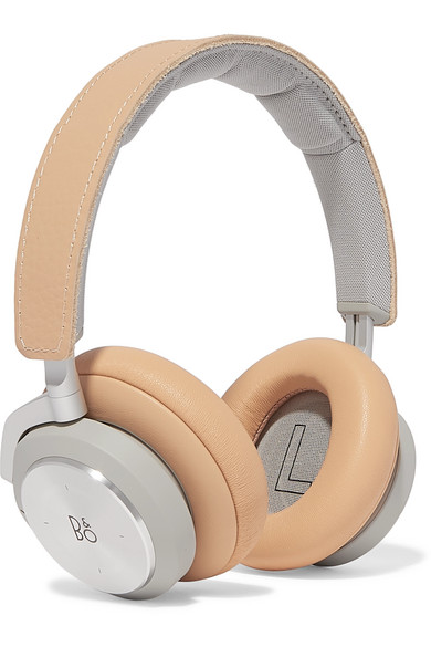 B&O PLAY H9I Wireless Leather And Aluminum Headphones in Cream