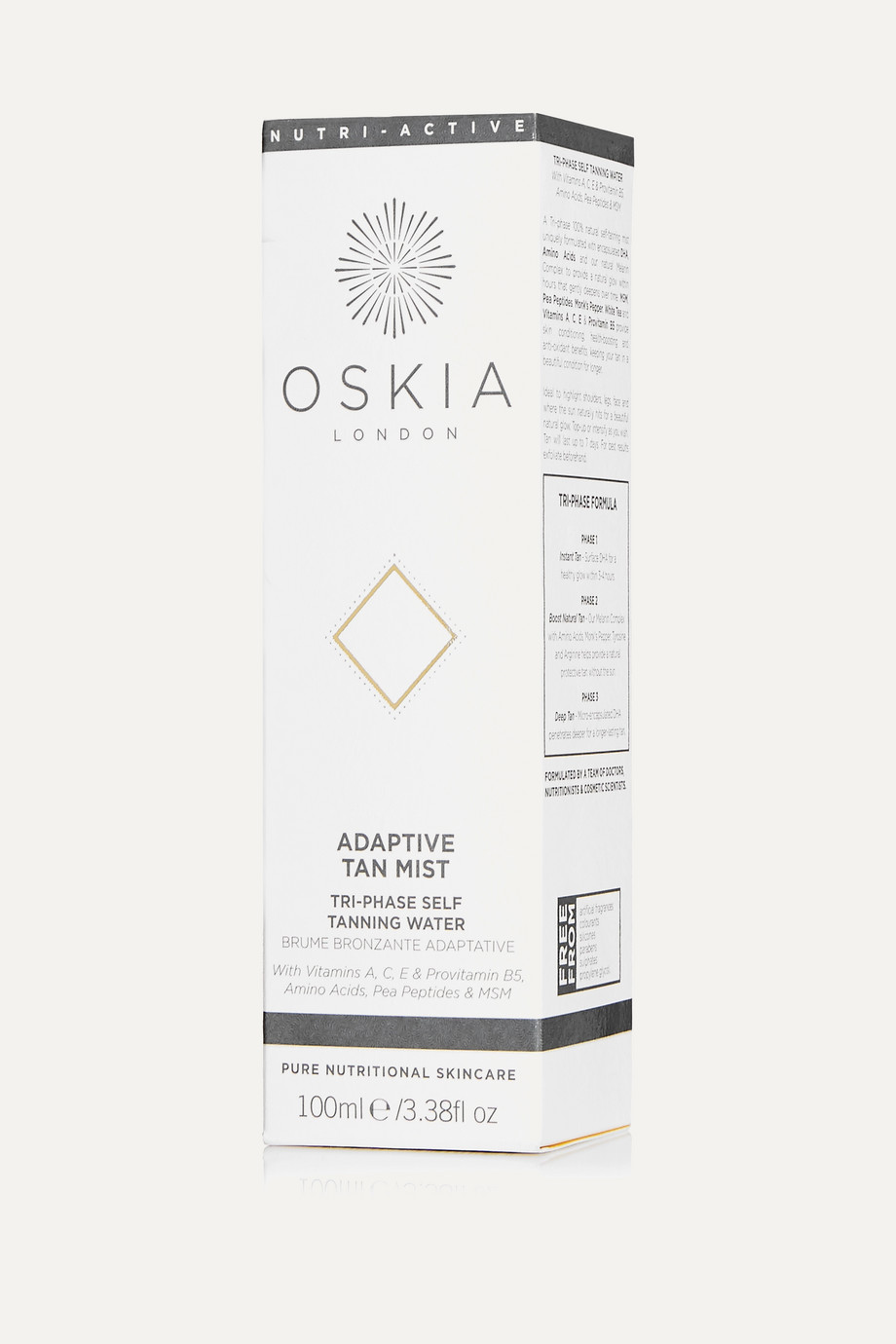 Oskia Adaptive Tan Mist, 100ml