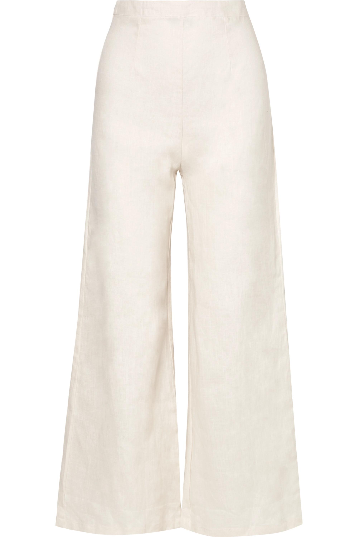 Faithfull The Brand Scelsi linen wide-leg pants
