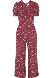 Faithfull The Brand Bonnie floral-print crepe jumpsuit
