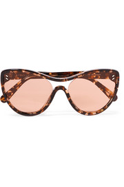 Stella McCartney Cat-eye tortoiseshell acetate sunglasses