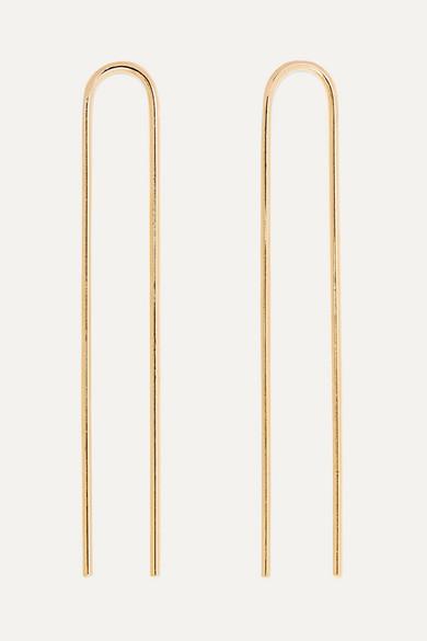 JENNIFER FISHER Clean Gold-Plated Hair Slides