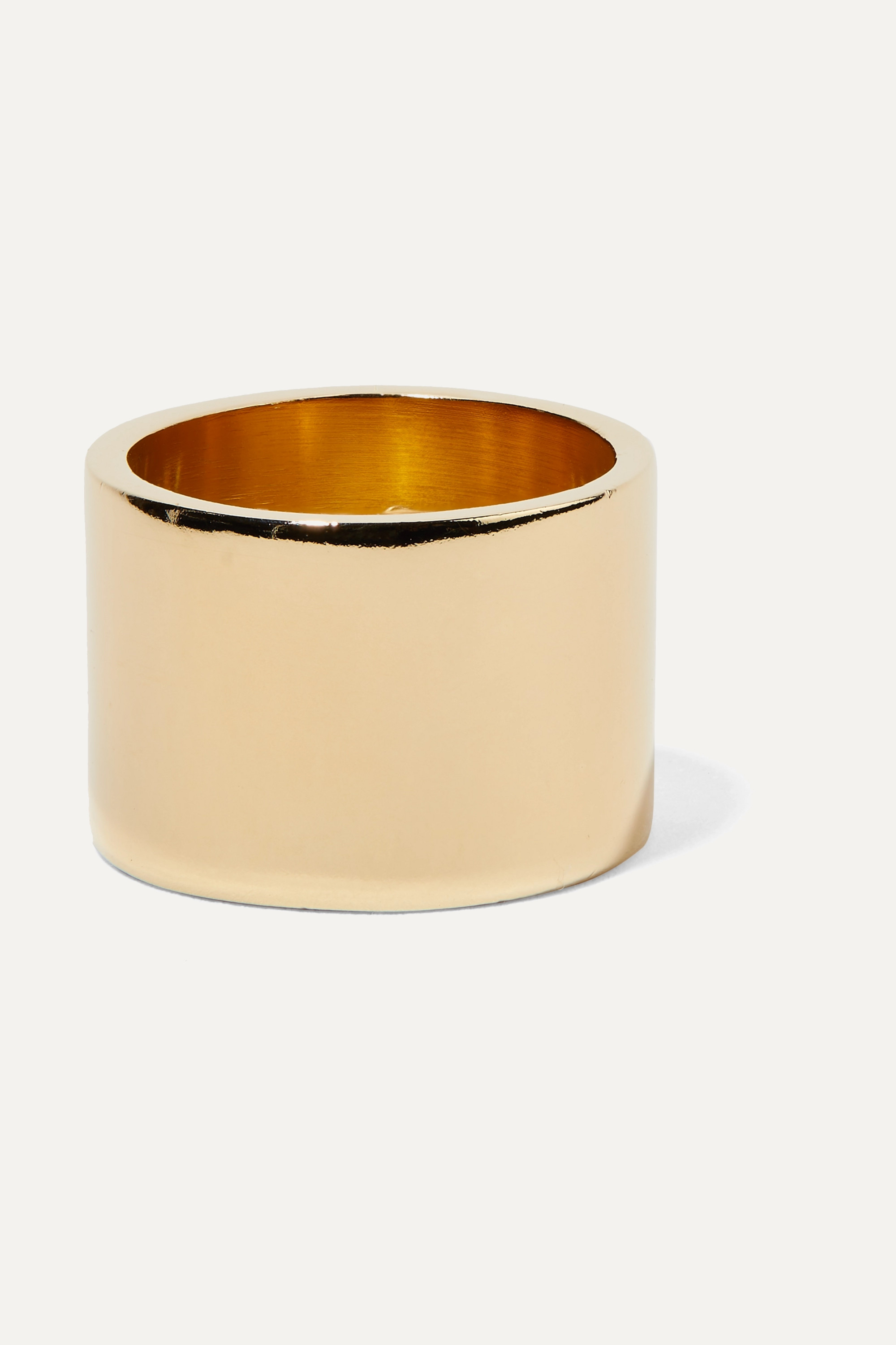 Jennifer Fisher Stripe gold-plated ring