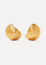 Alighieri The Floating Questions gold-plated earrings