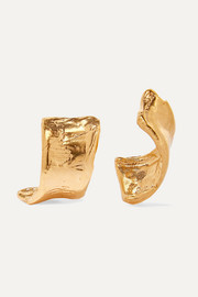 Alighieri The Cryptic Dancer gold-plated earrings