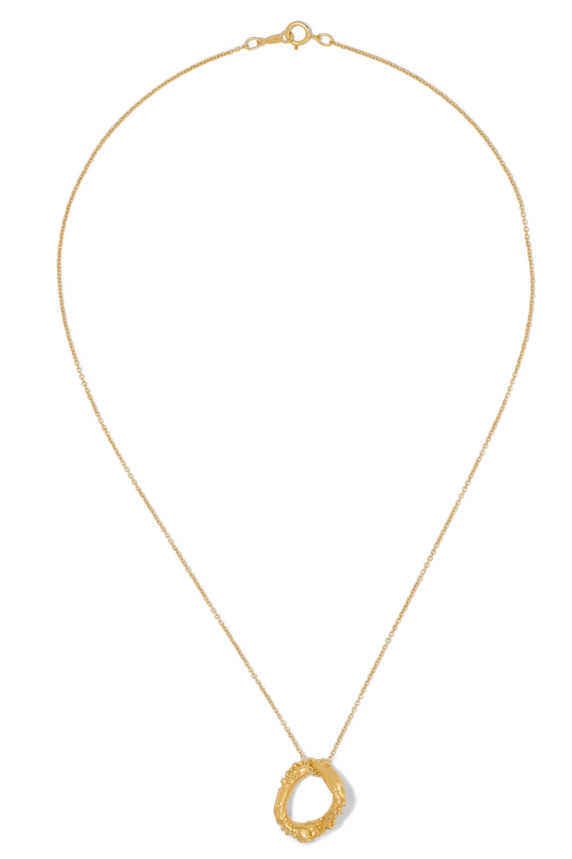Alighieri The Night Shift gold-plated necklace