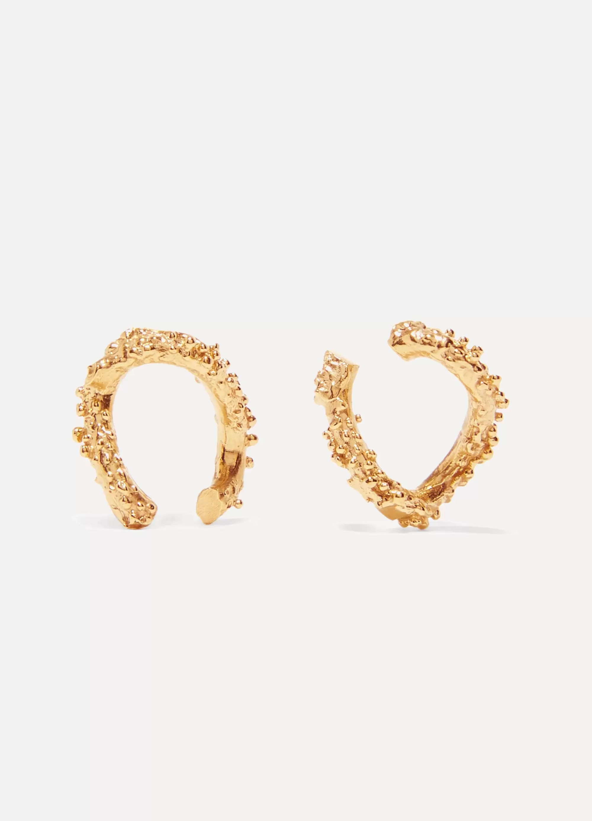 Alighieri The Night Shift gold-plated earrings