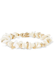 Rosantica Gold-tone mother-of-pearl bracelet