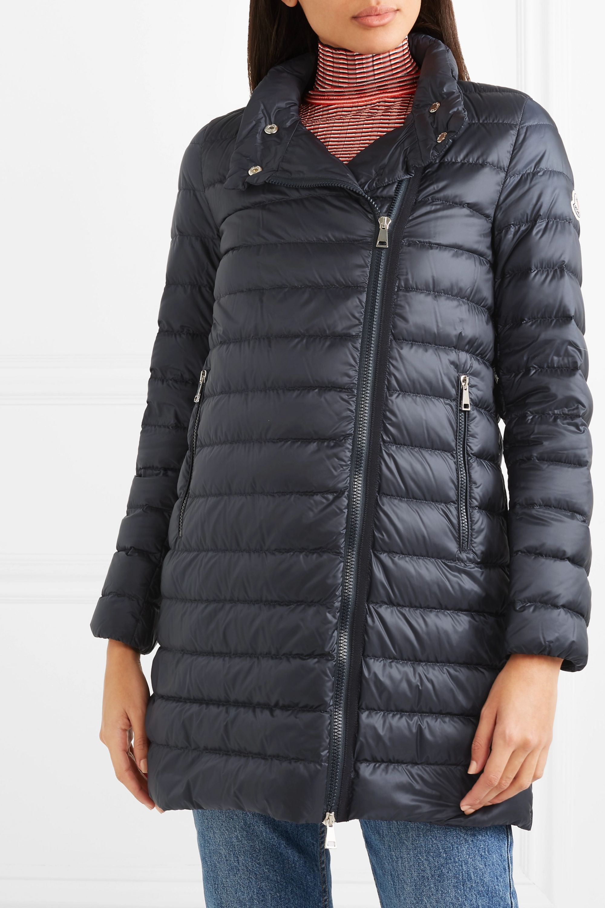 Moncler Quilted shell down jacket