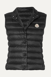 Moncler Quilted shell down vest